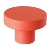 Kapstok knop oranje 50 mm