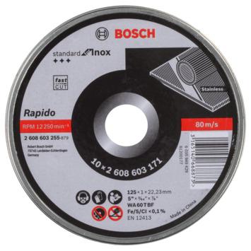 Bosch doorslijpschijf 125x1 mm