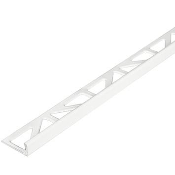 Tegelprofiel haaks aluminium wit 8 mm 300 cm