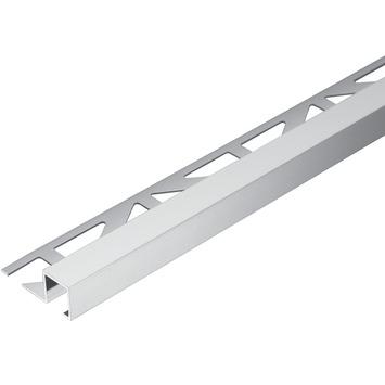 Tegelprofiel blok aluminium zilver 9 mm 300 cm
