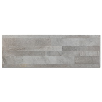 Wandtegel Decor Dust Grigio Muretto 20x60 cm 10 stuks