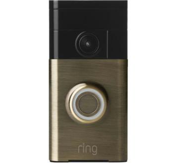 RING Video deurbel koper