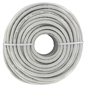 Q-Link UTP kabel CAT 6 AWG26 20 meter wit