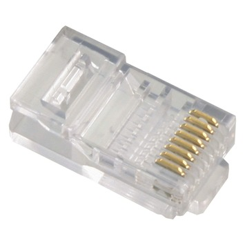 Q-Link UTP connector 8P RJ45 12 stuks
