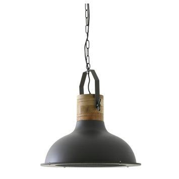 Hanglamp Kyony grafietgrijs