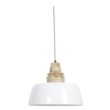 Hanglamp Margo wit hout