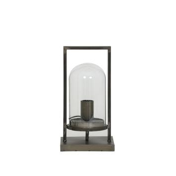 Tafellamp Jelle antiek zwart M