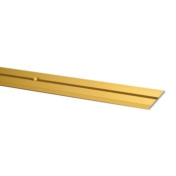 Finifix overgangsprofiel schroef goud 166 cm