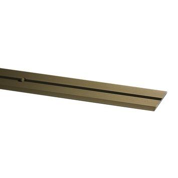 Finifix overgangsprofiel schroef brons 166 cm