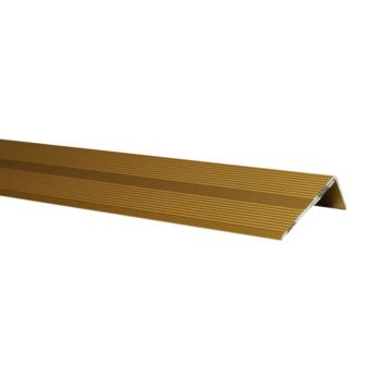 Finifix trapkant goud 42x22 mm 110 cm