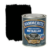 Hammerite Direct over Roest metaallak hamerslag zwart 750 ml
