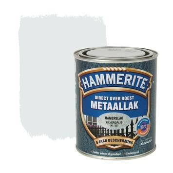 Hammerite Direct over Roest metaallak hamerslag zilver 750 ml