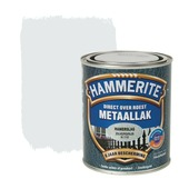 Hammerite Direct over Roest metaallak hamerslag zilver 750 ml