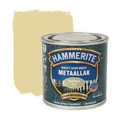 Hammerite Direct over Roest metaallak hamerslag goud 250 ml