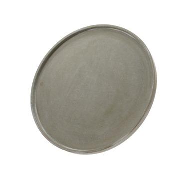 Bord MDF betonlook Ø39 cm