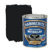 Hammerite Direct over Roest metaallak hoogglans zwart 750 ml