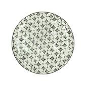 Bord keramiek patroon Ø27 cm