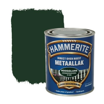 Hammerite Direct over Roest metaallak hoogglans donkergroen 750 ml