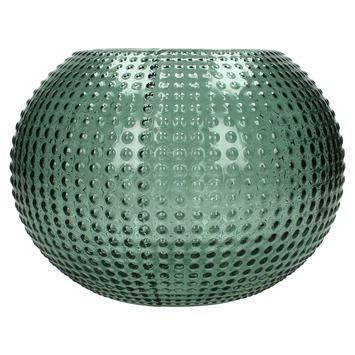 Vaas glas groen Ø24x18 cm