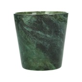 Kandelaar glas groen Ø10x10 cm