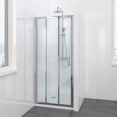 Bruynzeel Lino schuifdeur 3-delig 100x195cm chroom