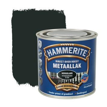 Hammerite Direct over Roest metaallak hoogglans standgroen 250 ml