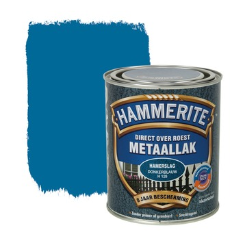 Hammerite Direct over Roest metaallak hamerslag donkerblauw 750 ml