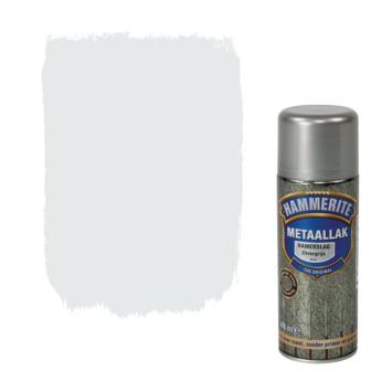 Hammerite metaallak spuitlak hamerslag zilvergrijs 400 ml