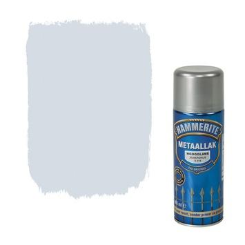 Hammerite metaallak spuitlak hoogglans zilvergrijs 400 ml