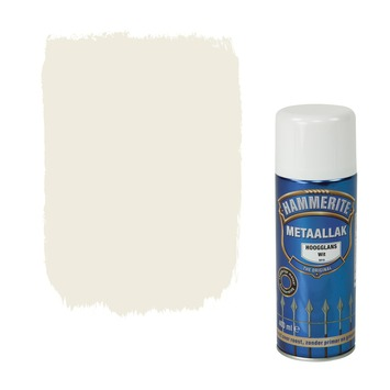 Hammerite metaallak spuitlak hoogglans wit 400 ml