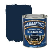 Hammerite Direct over Roest metaallak hoogglans standblauw 750 ml