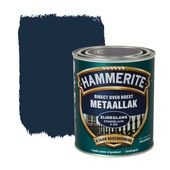 Hammerite Direct over Roest metaallak zijdeglans standblauw 750 ml