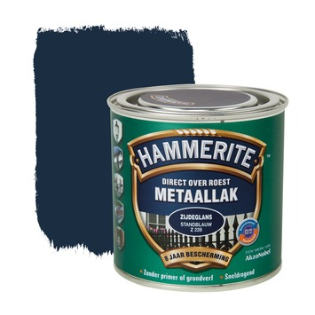 Hammerite Direct over Roest metaallak zijdeglans standblauw 250 ml