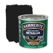 Hammerite Direct over Roest metaallak zijdeglans zwart 250 ml