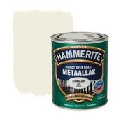 Hammerite Direct over Roest metaallak zijdeglans wit 750 ml