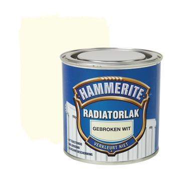 Hammerite radiatorlak hoogglans gebroken wit 250 ml kopen ...