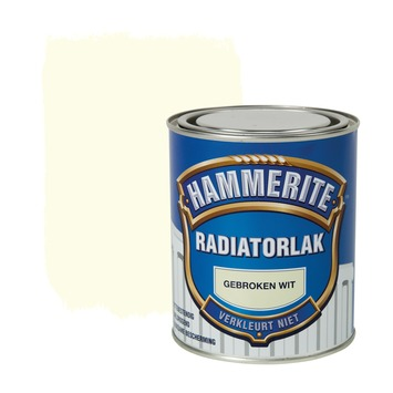 Hammerite radiatorlak hoogglans gebroken wit 750 ml
