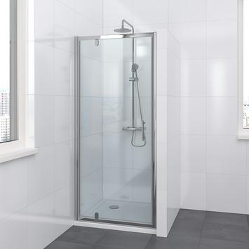 Bruynzeel Lino draaideur 80x195cm chroom