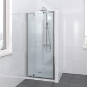 Bruynzeel Lino draaideur 90x195cm chroom