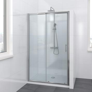 Bruynzeel Lino schuifdeur 2-delig 120x195cm chroom