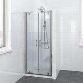 Bruynzeel Lino douchecabine pendeldeur 90x195cm chroom