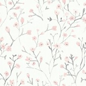 Vliesbehang lenny roze (dessin 101806)