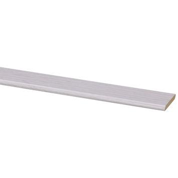 Plakplint wit eiken nr. 580 240 cm