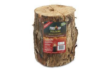 Fire Up Vulcano haardblok/fakkel
