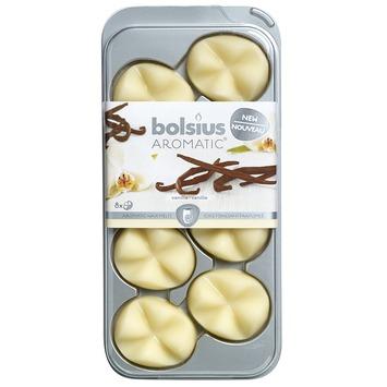 Bolsius aroma geur chips vanille 8 stuks