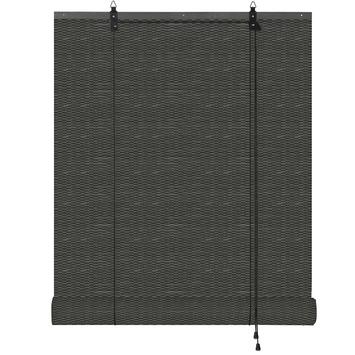 KARWEI roll-up bamboe zwart gemêleerd (1030) 90 x 180 cm (bxh)