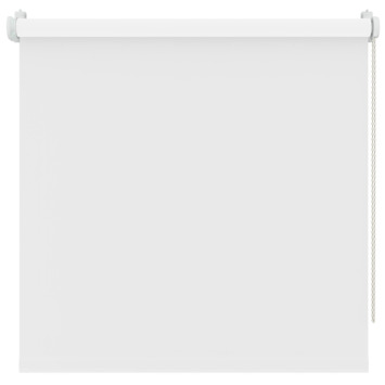 Decosol rolgordijn t.b.v. draaikiepraam sneeuwwit verduisterend (5715) 127 x 160 cm