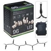 LED-verlichting 96 lampjes. Werkt op batterijen