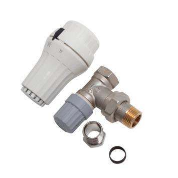 Danfoss thermostatische radiatorkraan haaks