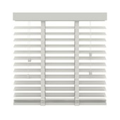 KARWEI horizontale houten jaloezie wit (944) 180 x 220 cm - 50 mm